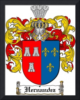 HERNANDEZ FAMILY CREST - COAT OF ARMS