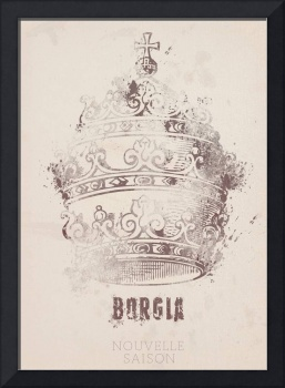 Borgia, Tv series, Minimal, Movie Poster, French