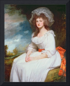 Portrait of Anne Rodbard (oil on canvas) by George