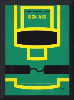 No544 My Kick-Ass minimal movie poster