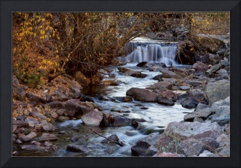 Waterfall_On_Beautiful_Boulder_Creek
