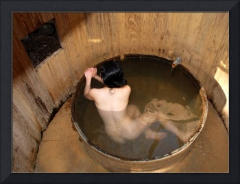 Benten Onsen Bather
