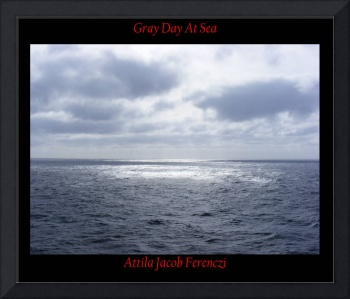 Gray Day At Sea