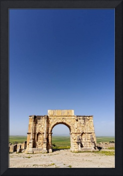 Arch of Triumph,  Volubilis, Morocco
