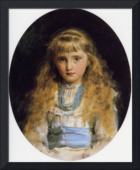 Portrait of Beatrice Caird, daughter of Sophy Cair