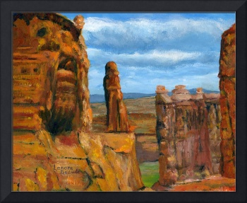 Impressionist Utah Art; Arches National Park