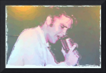 Elvis Watercolor