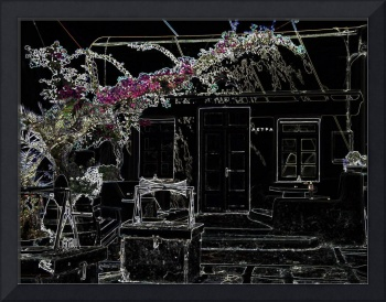 Negative of a house