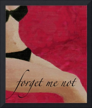 FORGET ME NOT - PIN-UP GIRL