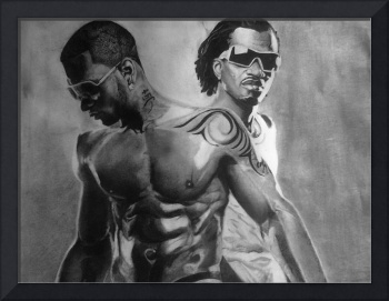 P square (pencil drawing)