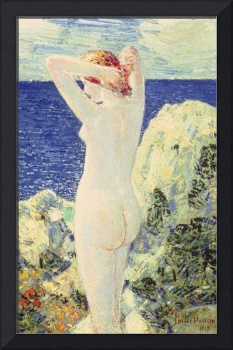 The Bather by Childe Hassam