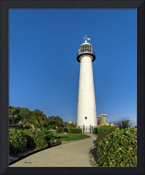 Gulf Coast Lighthouse Seascape Biloxi MS 3773A