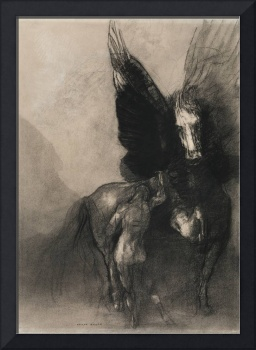 Pegasus and Bellerophon by Odilon Redon