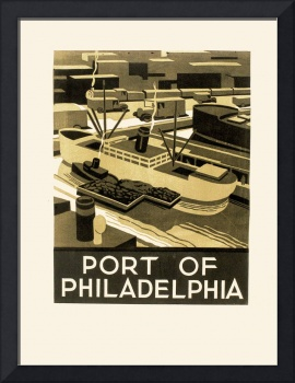 Port of Philadelphia Poster (1936-37)