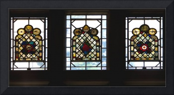 Stained Glass Triptych - Complete
