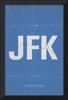 JFK minimalist movie poster
