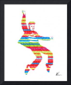 Elvis Presley - Jailhouse Rock - Pop Art