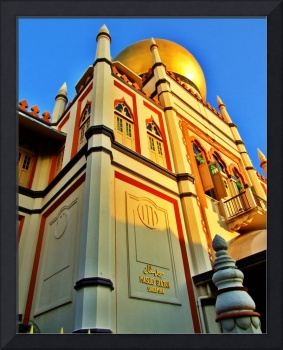 Singapore's Sultan Mosque at Dawn