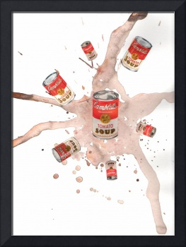 Campbell Soup Watercolor