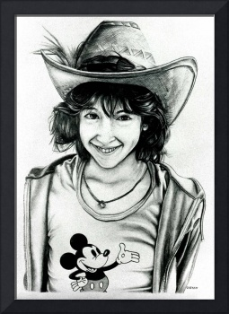 Kelly at Disneyland 1980