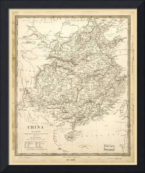 Map of China (1845)
