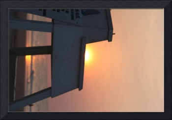 Sunrise at the Lifeguard Stand