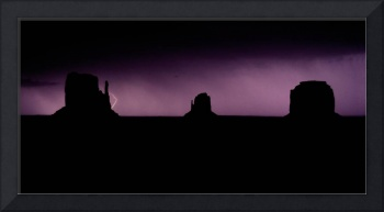 Monument Valley Mitten Storm