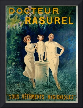 Docteur Rasurel by Cappiello Vintage Poster