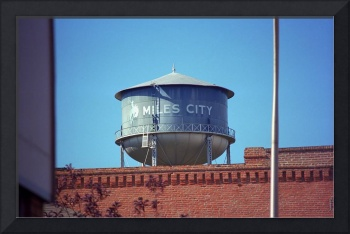 Miles City, Montana - Water Tower