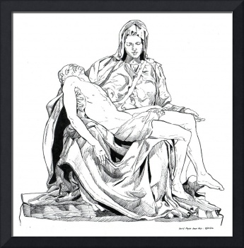 PIETA (after Michelangelo)