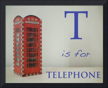 T is for Telephone