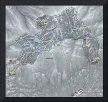 Heavenly Resort Trail Map