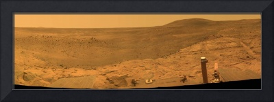 Panorama of Mars from Columbia Hills range inside