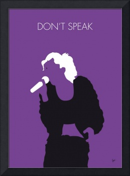 No051 MY NO DOUBT Minimal Music poster