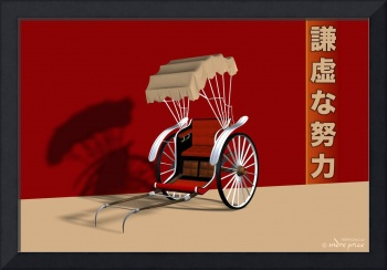 Chariot of the Rickshaw Workmen - 3D Model