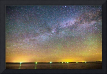 Colorful Milky Way Night
