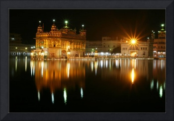 Night time Golden Temple