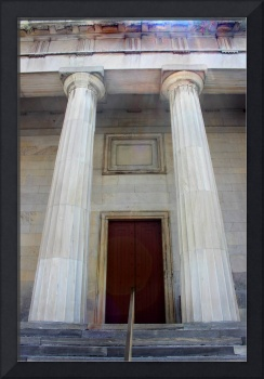 Columns of Second Bank of US in Philadelphia