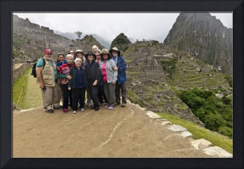 The Machu Picchu 10 with Megan and guide