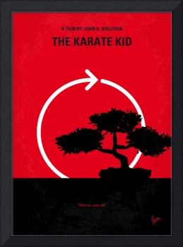 No125 My KARATE KID minimal movie poster