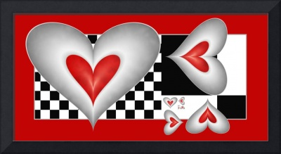 Hearts on a Chess Board