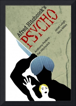 Psycho Minimalist Movie Poster