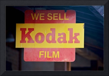 We sell Kodak Film