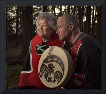 Tlingit Matriarch and Son, Sitka, Alaska