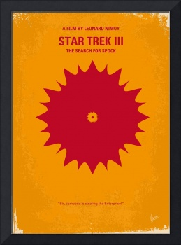 No083 My Star Trek - 3 minimal movie poster