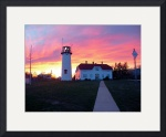Chatham Lighthouse at Sunset by Christopher Seufert