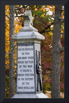 Monument on Culp's Hill at Gettysburg