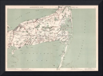 Massachusetts Atlas of Cape Cod : 1941