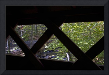 View from the covered bridge