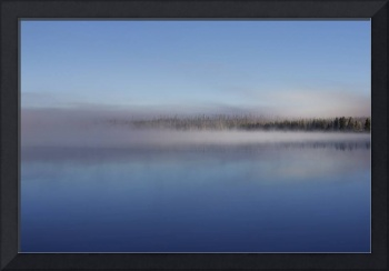 Lewis Lake Morning Mist